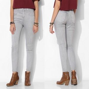 UO BDG High-Rise Seamed Ankle Jean